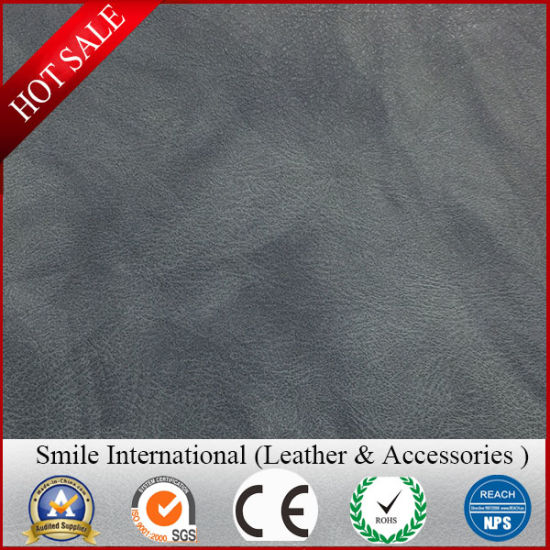 Double Color Faux Leather Factory Price Semi-PU Leather Soft Good Quality Wholesales
