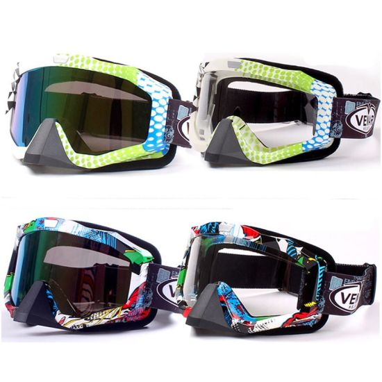 65acd7df9f7 China Motocross Ski Goggles Snow Goggles with Colorful Lens (AG006 ...