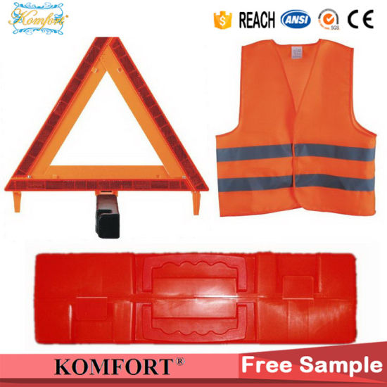 Reflective Customized Logo DOT Safety Car Traffic Sign Emergency Warning Triangle pictures & photos