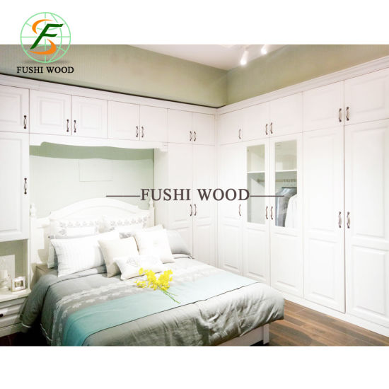 Wholesale Modern Bedroom Furniture Melamine Chipbobard Wardorbe Furniture pictures & photos