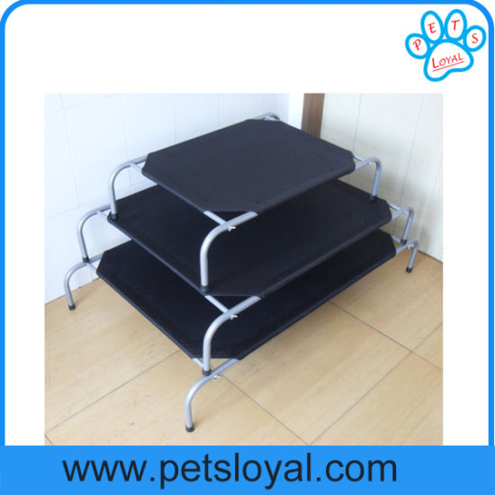 Hot Sale Summer Cool Oxford Elevated Pet Dog Bed pictures & photos