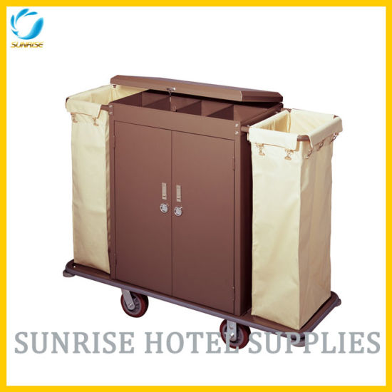 Hot Selling Hotel Room Housekeeping Cart Service Trolley