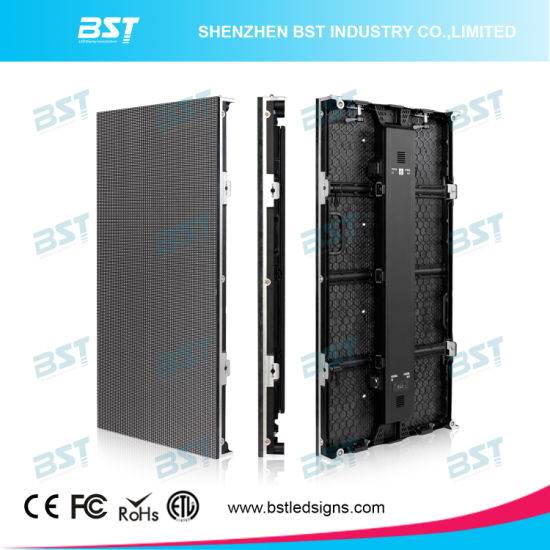 China P6 25 Outdoor Curve Rental Led Display Screen For