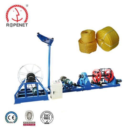 D Type Big Size Twisted Rope Making Machine