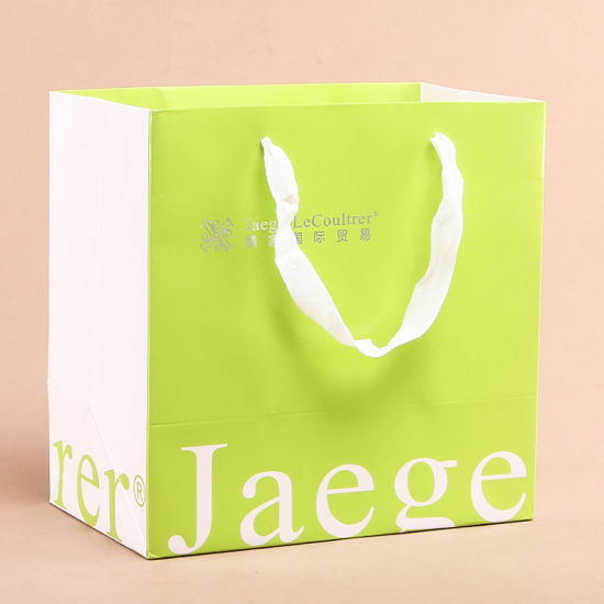 Custom Design Printed Foldable Paper Gift Bag with Handle pictures & photos