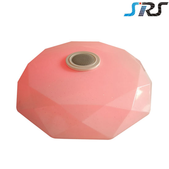 Dimmable Bluetooth Remote Control Smart Music Combining LED Ceiling Lamp pictures & photos