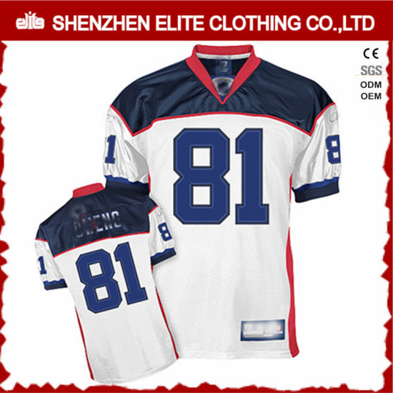 2d708aea3a9 China Wholesale Cheap Custom Adult Youth American Football Shirts  (ELTAFJ-72) pictures &