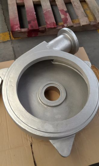 Factory OEM CNC Machining Sg450-12 Hydraulic Water Pump Housing pictures & photos