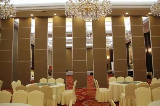 China Acoustic Operable Partition Walls For Hotel Banquet