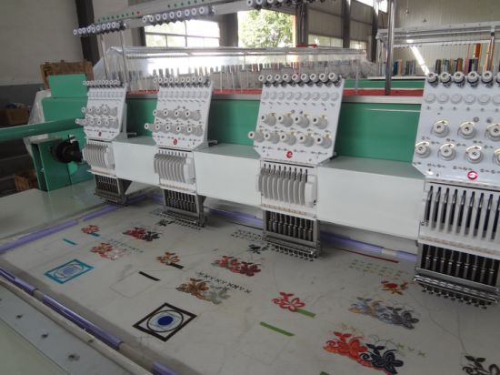 4 Head Cap T-Shirts Embroidery Machine pictures & photos