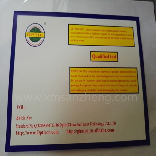 Custom Clear Self Adhesive Asset Management Printing Packaging Paper Stickers pictures & photos