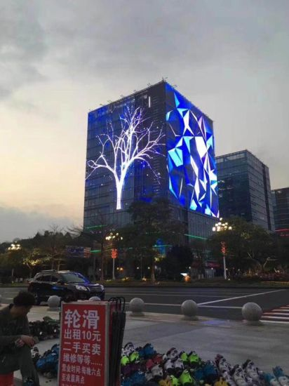 Durable and Stable Indoor/Outdoor P3.9 Transparent LED Display (TGC3.9)