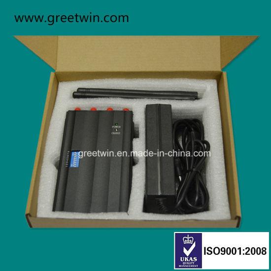 China 12V Charger Handy Short Range Cell Phone Jammer Pocket