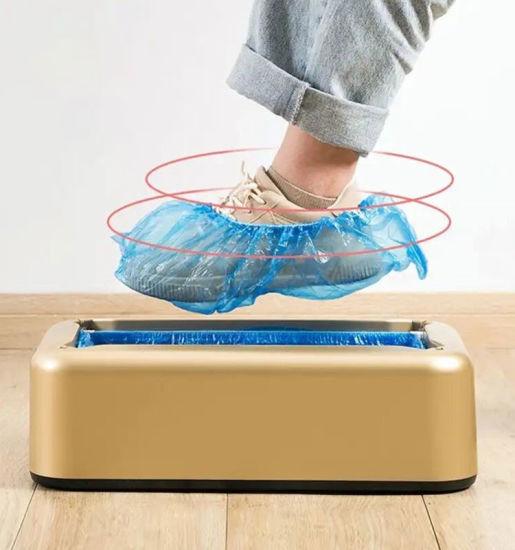 Automatic Disposable Plastic Shoe Cover Dispenser Overshoe Machine/Shoe Film Machine