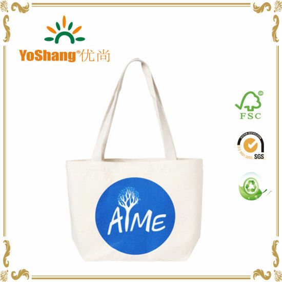 Custom Wholesale Tote Bag Handle Shopping Bag Canvas Bag