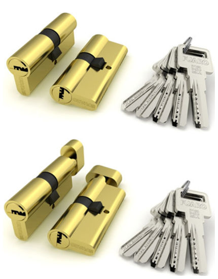 Cylinder Lock, Door Cylinder Lock, Button Cylinder Lock (AL-902)
