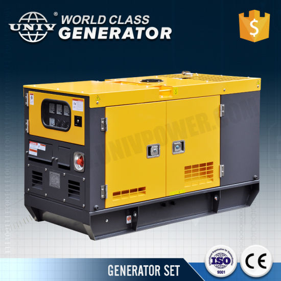High Quality Small Water Cooled Soundproof 20kw Electric Diesel Power Generator Price For Sale Pictures