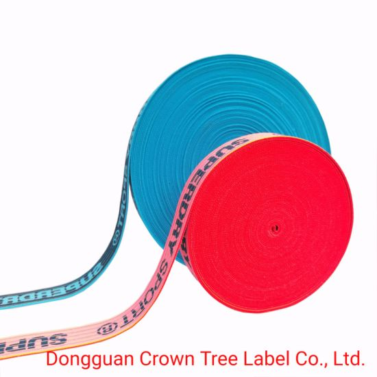 Fish Yarn Top Quality Elastic Ribbon Webbing for Clothing Decoration
