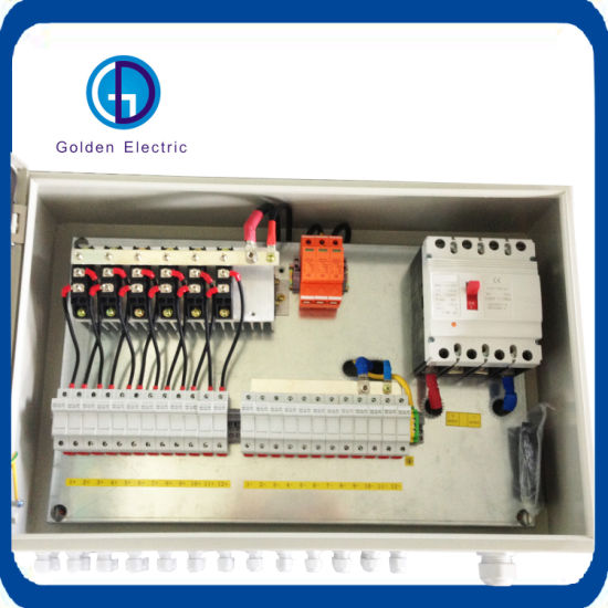IP67 Solar PV Combiner Box PV Array Box 4 Groups 8 Groups 12 Groups in and 1 out