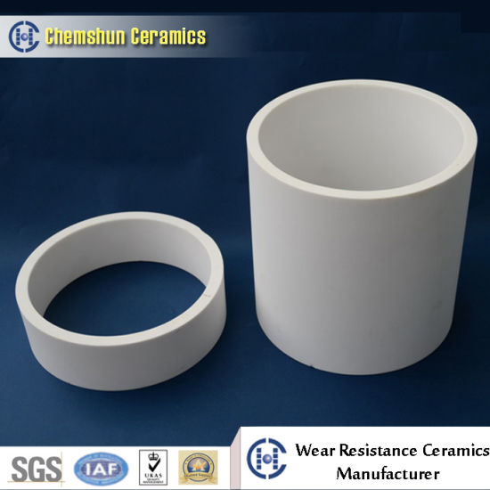 Custom Engineered Industrial Ceramic Pipe with Central Hole pictures & photos