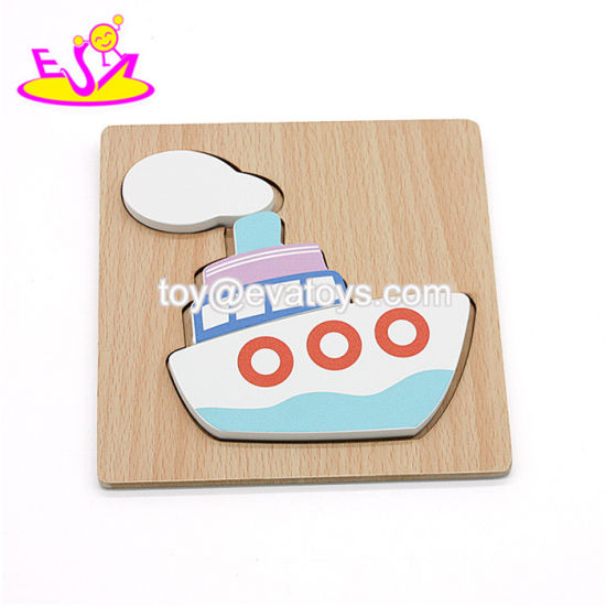 China New Hottest Mini 3d Wooden Boat Puzzle For Kids Education