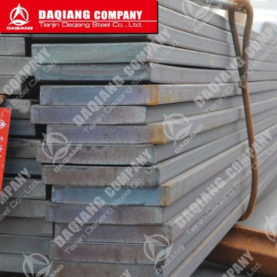 China SAE6150 Spring Steel Flat Bar for Leaf Spring - China