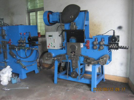 Automatic Mechancal Wire Plastic Bucket Handle Making Machine pictures & photos