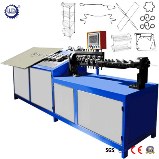 3 Axes Automatic CNC 2D Wire Bending Forming Machine