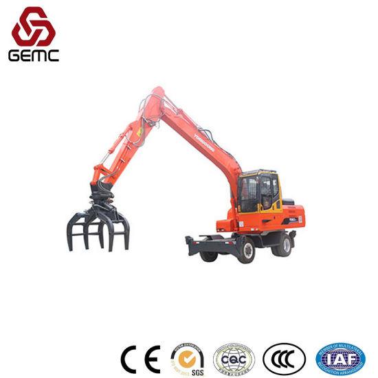 Motor Hydraulic Orange Peel Scrap Steel Grabber