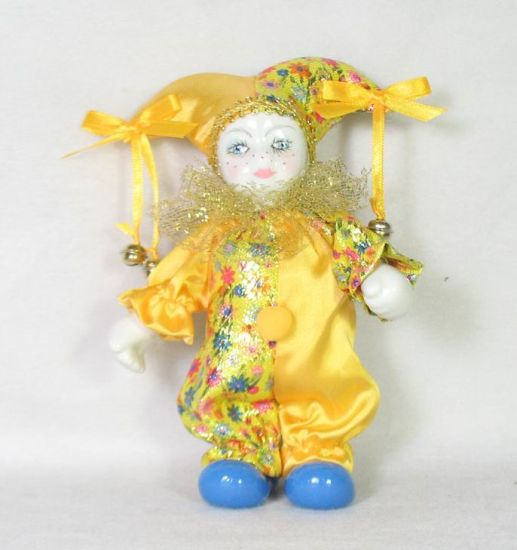 Colorfl Clown Toy with a Golden Small Bell pictures & photos