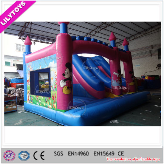 Hot Commerical Inflatable Bouncer Combo for Kids Party Rentals pictures & photos