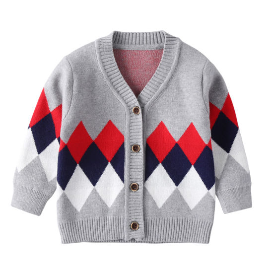 Winter Cardigan Sweater Baby Clothes Jacket Roomy Silhouettes Baby Knitwear