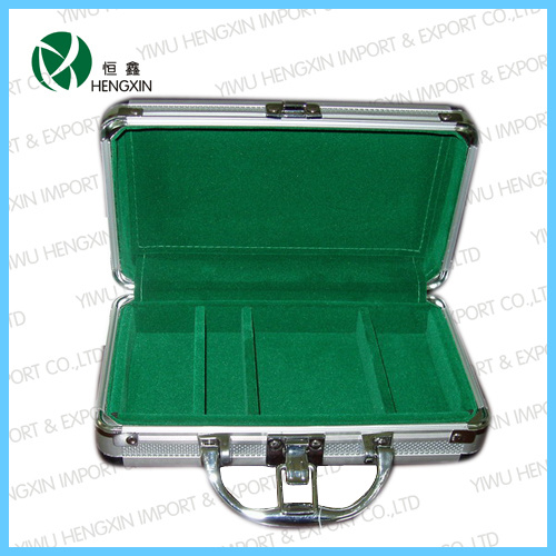 Hot Sale Aluminum Poker Chip Case (HX-PC-103)