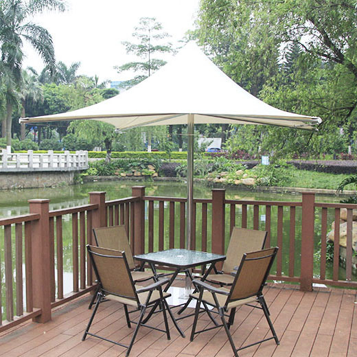 Stainless Steel Membrane Umbrella Parasol Beach Coating Parasol