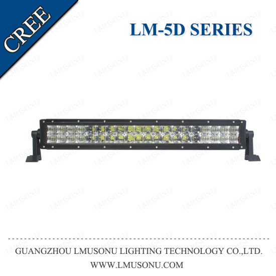 IP67 High Lumen 4X4 5D Aluminum Housing Double Row CREE LED Light Bars 120W 180W 240W 288W 300W