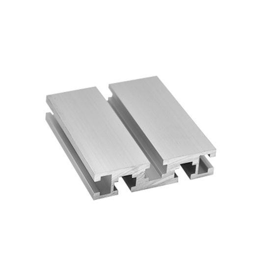 Alloy V Shape Open Extruded 40X40 Profiles 30*60 Aluminum Extrusion T Slot  Aluminium Bar