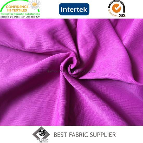 Dobby Pongee Fabric Garment Polyester Woven Fabric