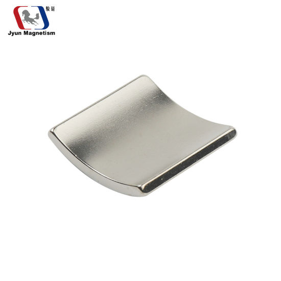 Strong Rare Earth Arc Tile Segment Industrial Motor Neodymium NdFeB Permanent Magnet
