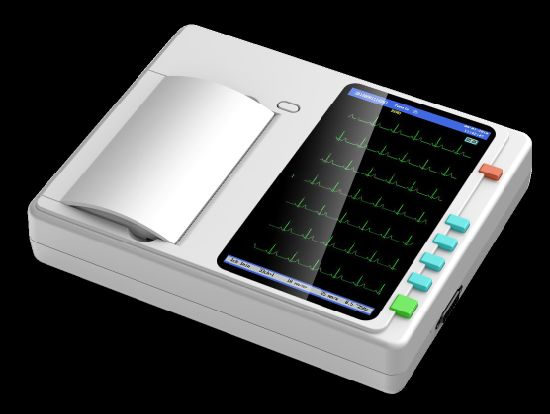 Factory Price Medical Auto-Analysis 6 Channels ECG Machine/Electrocardiogram Machine