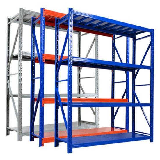 Warehouse Storage Long Span Medium Duty Shelf Racking