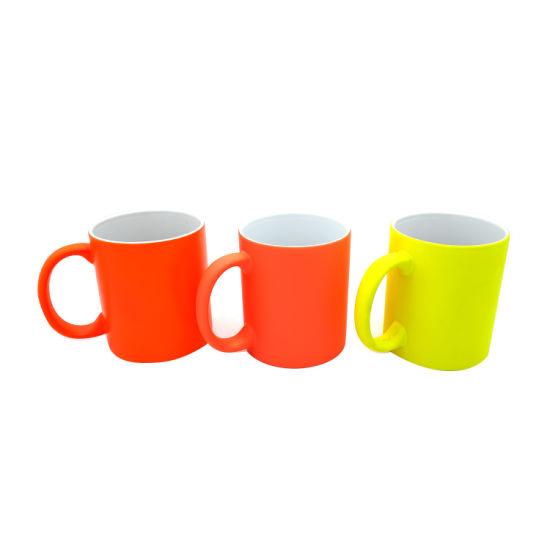 11oz Low Temperature Colored Ceramic Mug