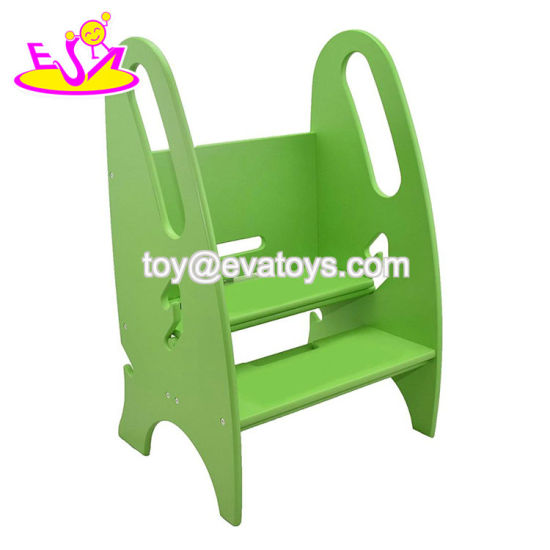 Surprising High Quality White Wooden Folding Step Stool For Kids W08G276 Ocoug Best Dining Table And Chair Ideas Images Ocougorg