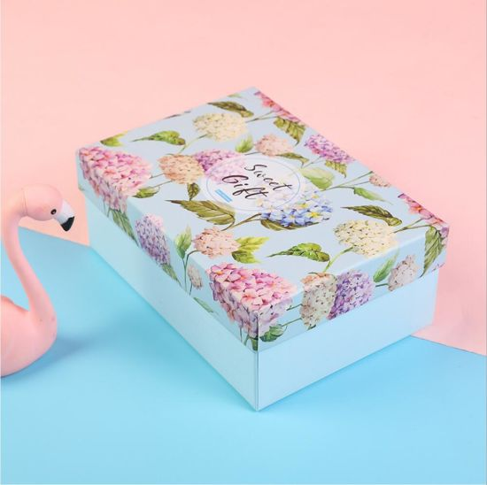 China Wholesale Large Paper Gift Box Big Size Jewelry Cardboard Boxes Large Size Paper Box for T-Shirt/Suit/Scarf/Wine