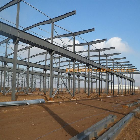 Low Cost Large-Span Prefabricated Light Steel Structure Warehouse Building Construction