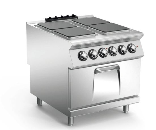 Stainless Steel Western Style Electric Multi-Burner Stove
