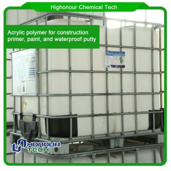 Waterproof Property Acrylic Polymer Binder For Elastic Putty