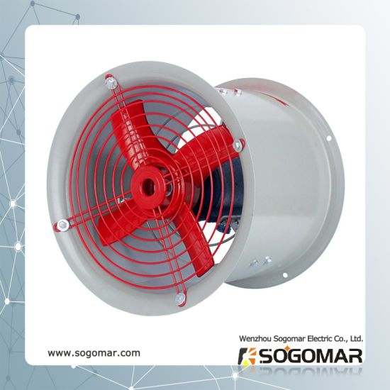 Bt35-11 Axial Fan Explosion-Proof for Duct Industry with Low Noise