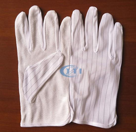 PVC Dotted Antistatic Gloves (PVC DOT palm)