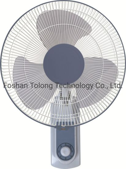 16 Inch Vintage Antique Plastic Electric Oscillating Wall Mount Fan