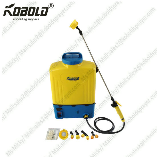 China (KB-16E-8) 12V 16L Agricultural Battery Powered